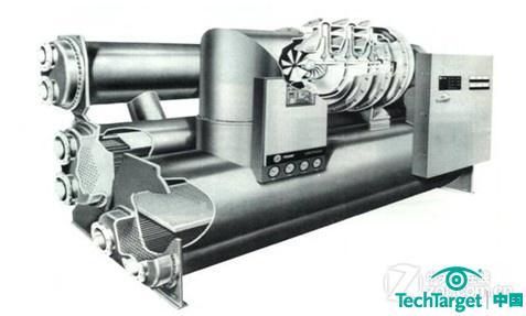 离心式制 冷压缩机的构造和工作原理与离心式鼓风机极为相似.图片